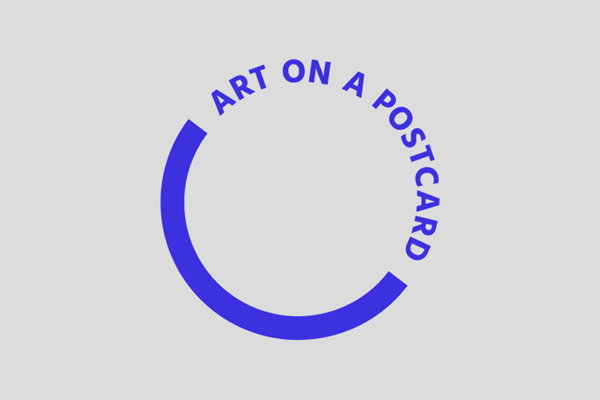 Art on a postcard logo